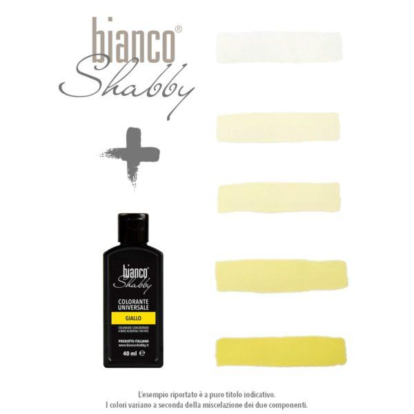 Bianco Shabby chalk paint vernici shabby
