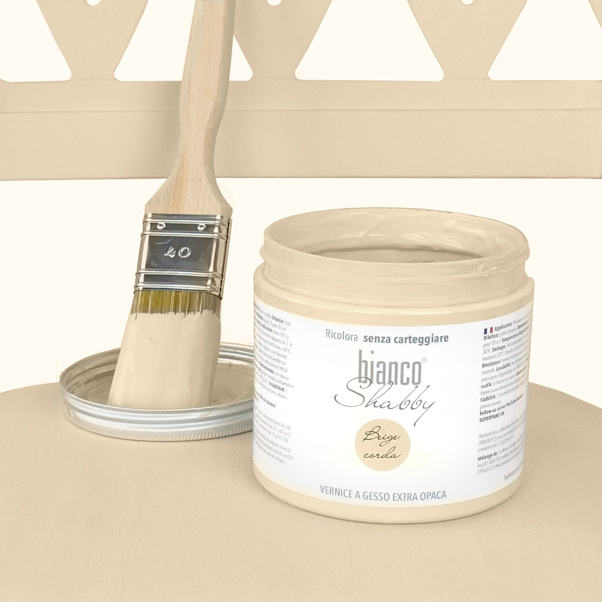 Chalk Paint Beige Corda