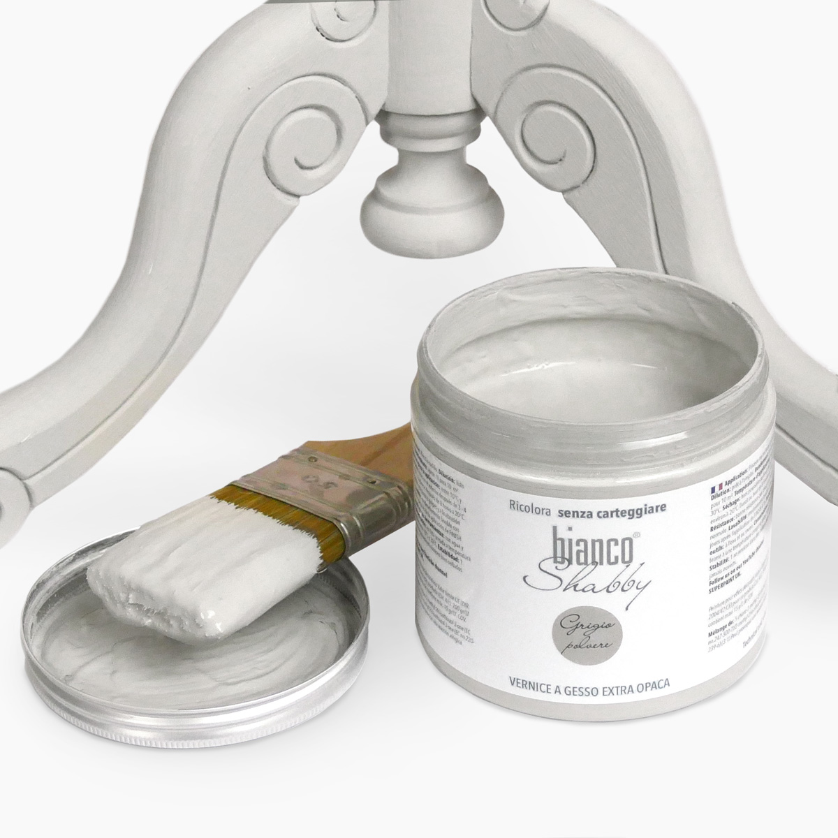 Chalk Paint Grigio Polvere