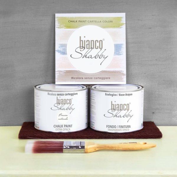 Starter Kit Finitura Bianco Naturale Min