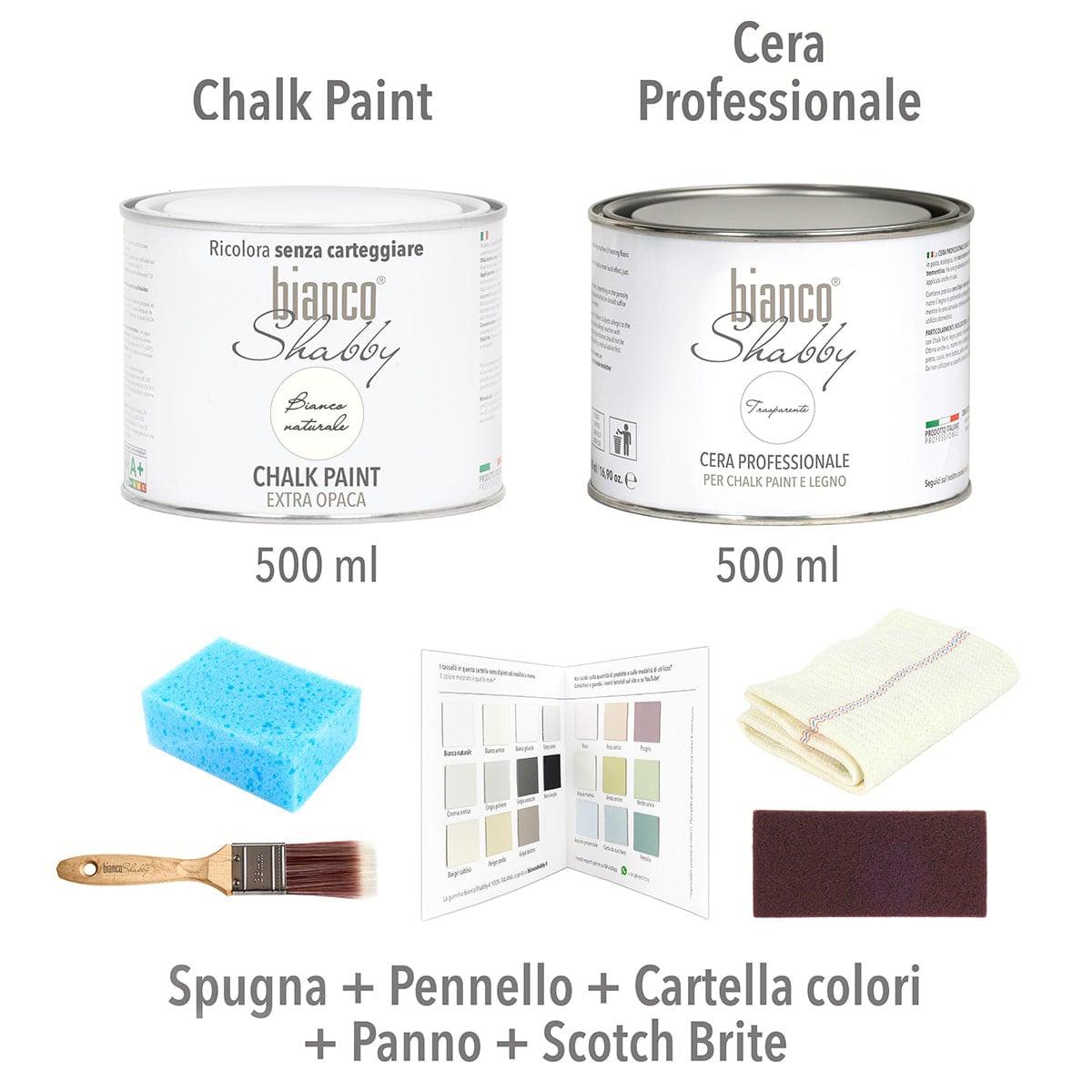 Chalk Paint Italiana Starter Kit In Offerta Prova La Qualita Biancoshabby