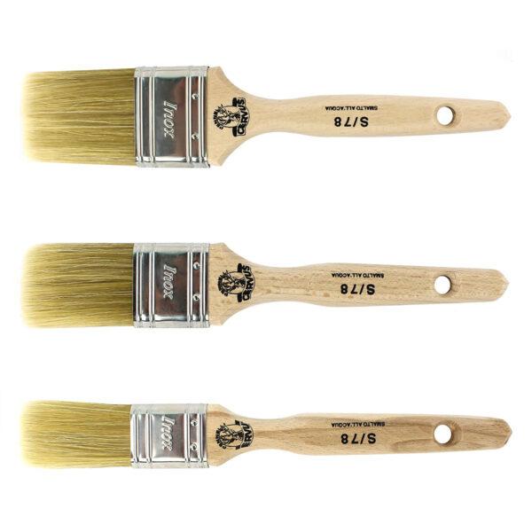 Pennelli extra morbidi per chalk paint